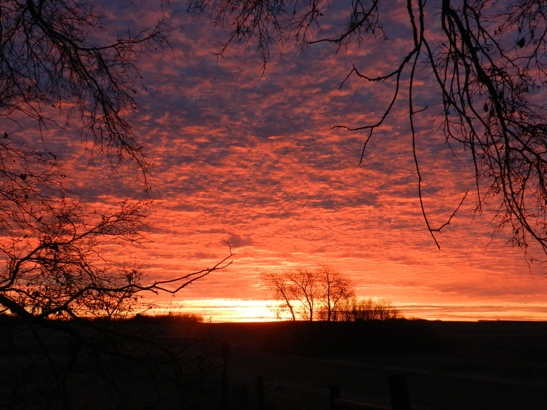 Late October Saskatchewan Dawn